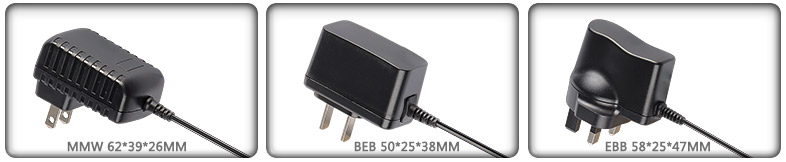 15V AC DC power supply adapter